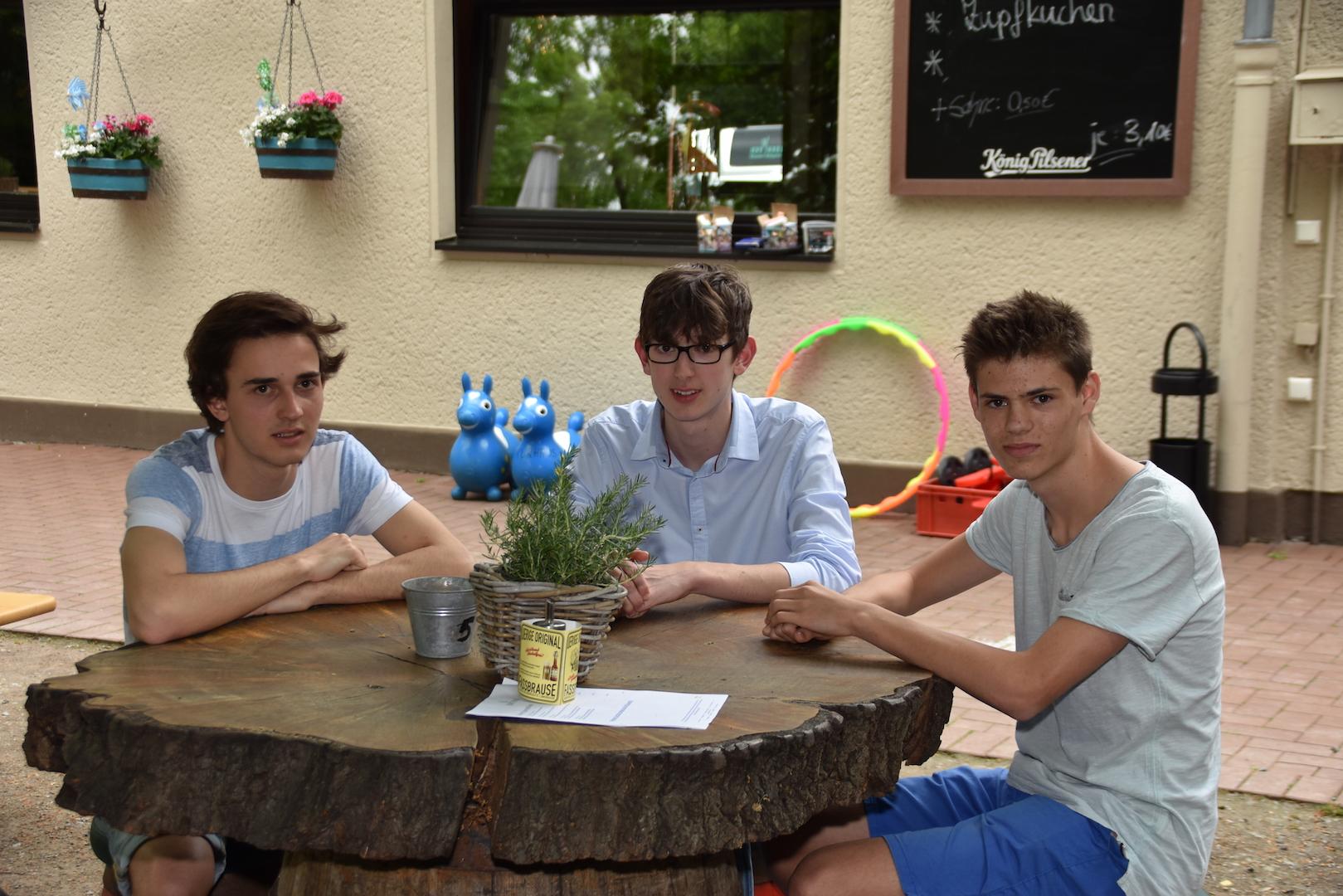 Neues sch ler projekt trio f r die werbung lokalb ro d sseldorf - Nicolas kleine architect ...