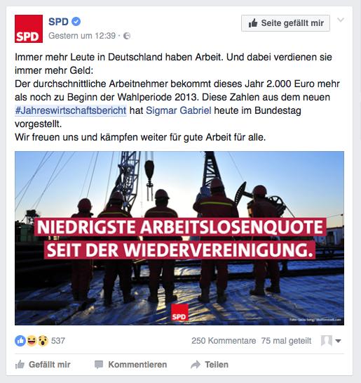 Zwischenruf: SPD – neue Führung, alte Fehler