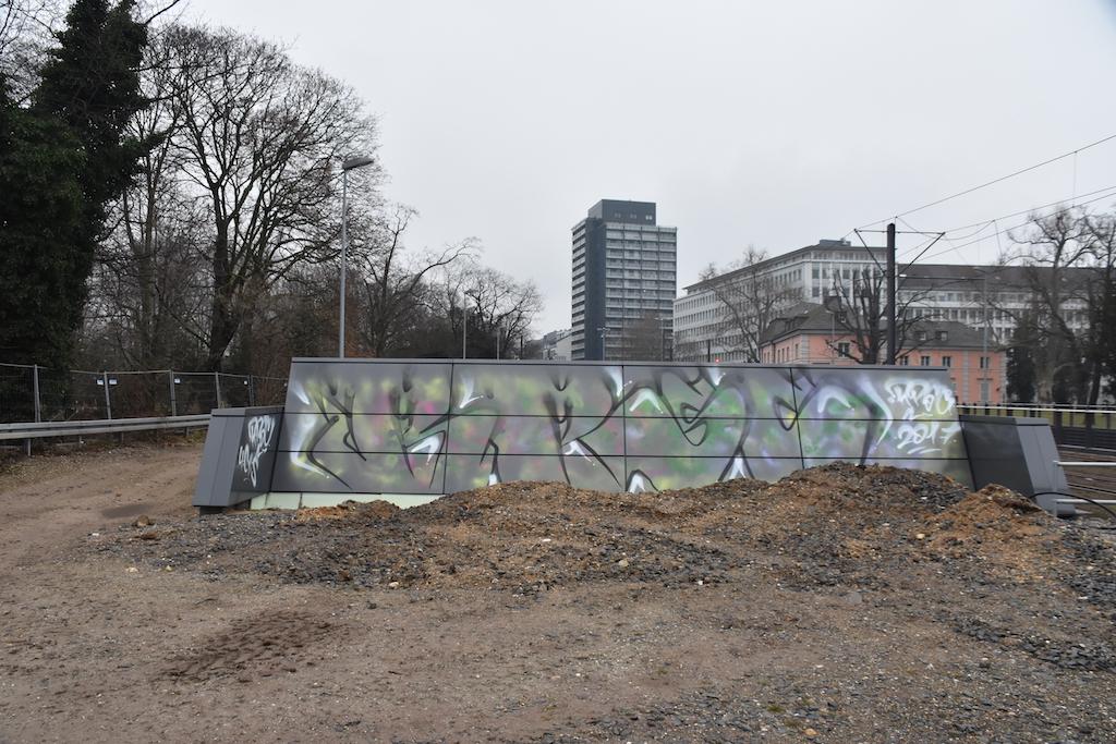 Graffitischmiererei..