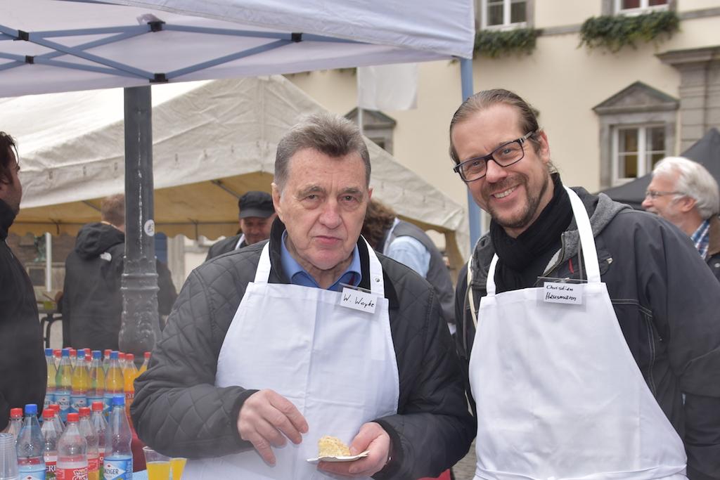 Wilfried Woyke und Christian Hausmann