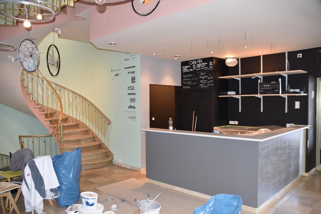 Neuerliche Renovierung Foto: LOKALBÜRO