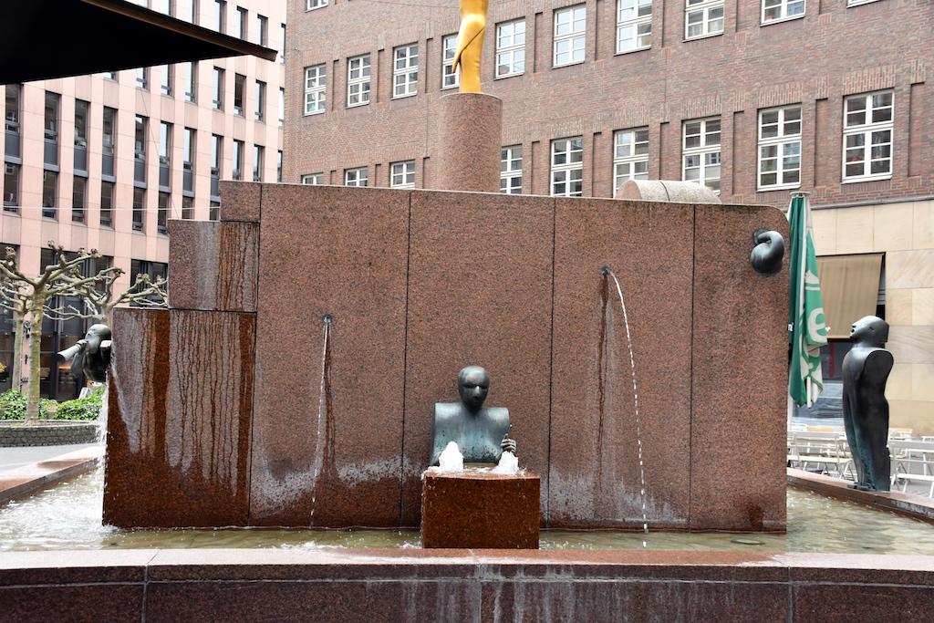 Musikbrunnen Im Stadtbrückchen Foto: LOKALBÜRO