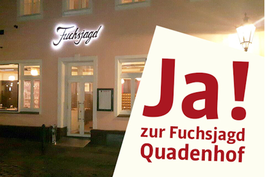 Fuchsjagd in Gerresheim