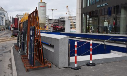 Wieder Reparatur an U-Bahnstation