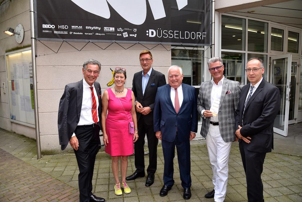 Wolfgang Rolshoven, Dr. Susanne Anna, Dirk Elbers, Friedrich Conzen und Prof. Andreas Meyer-Falcke, Roland Schüßler Foto: LOKALBÜRO