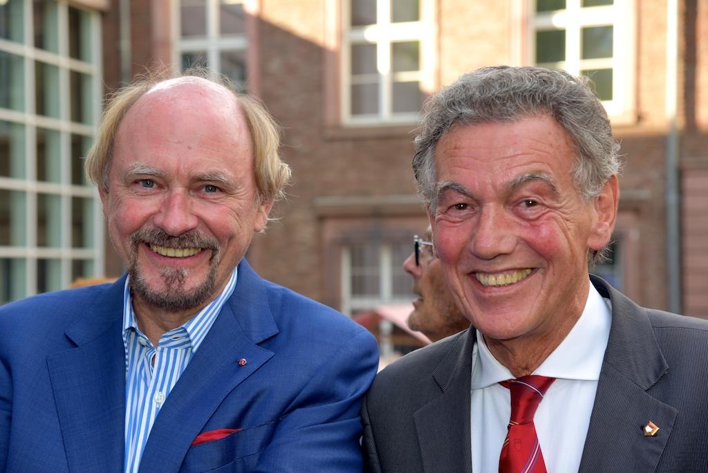 Ein starken Team Dr. Rheinhold Hahlhege und Wolfgang Rolshoven