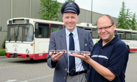 Modellbus sammelt für Restaurierung des Großen