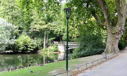 Neue Gaslaternen für den Hofgarten