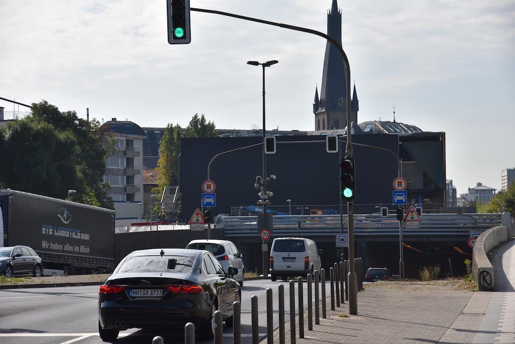 Blick in Richtung Burgplatz Foto: LOKALBÜRO