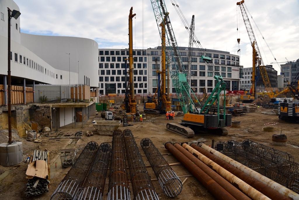Baustelle Kö Bogen II Foto: LOKALBÜRO