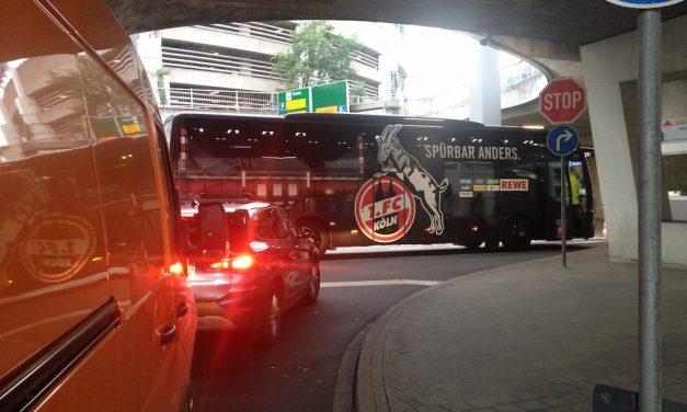 Hatte der Bus das falsche Logo ?