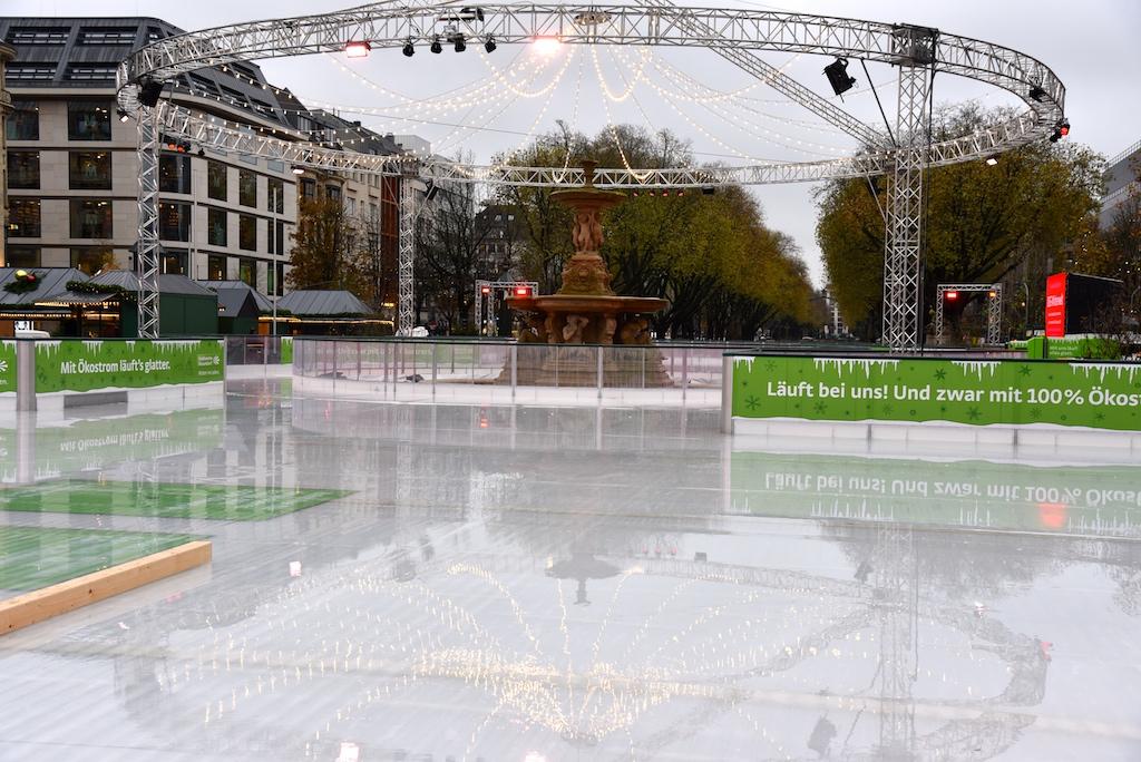 Eislaufbahn an der KÖ Foto: LOKALBÜRO