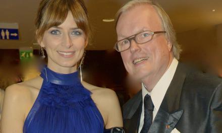 Eva Padberg Gast bei der Unicef Gala