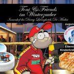 "Winterzauber im Innenhof des Hotels ""De Medici"""