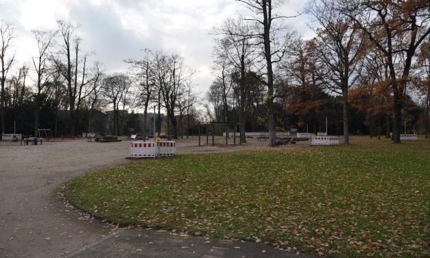 Erneuerung der Gaslaternen im Hofgarten