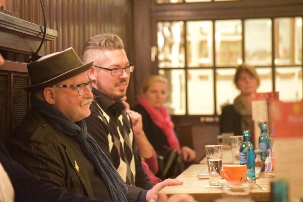 Der alte und der neue Frotmann v.l. Peter Lieverscheidt und Björn Beeren Foto: LOKALBÜRP