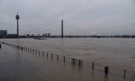 Hochwassermarke über 8,30 Meter