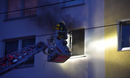 Brand in einer Küche verursacht hohen Sachschaden