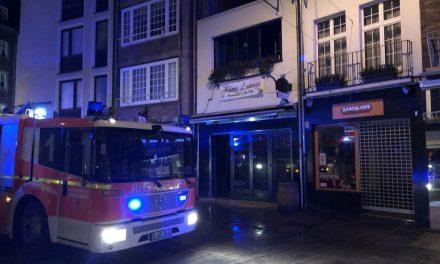 Brand in der Bergerstraße