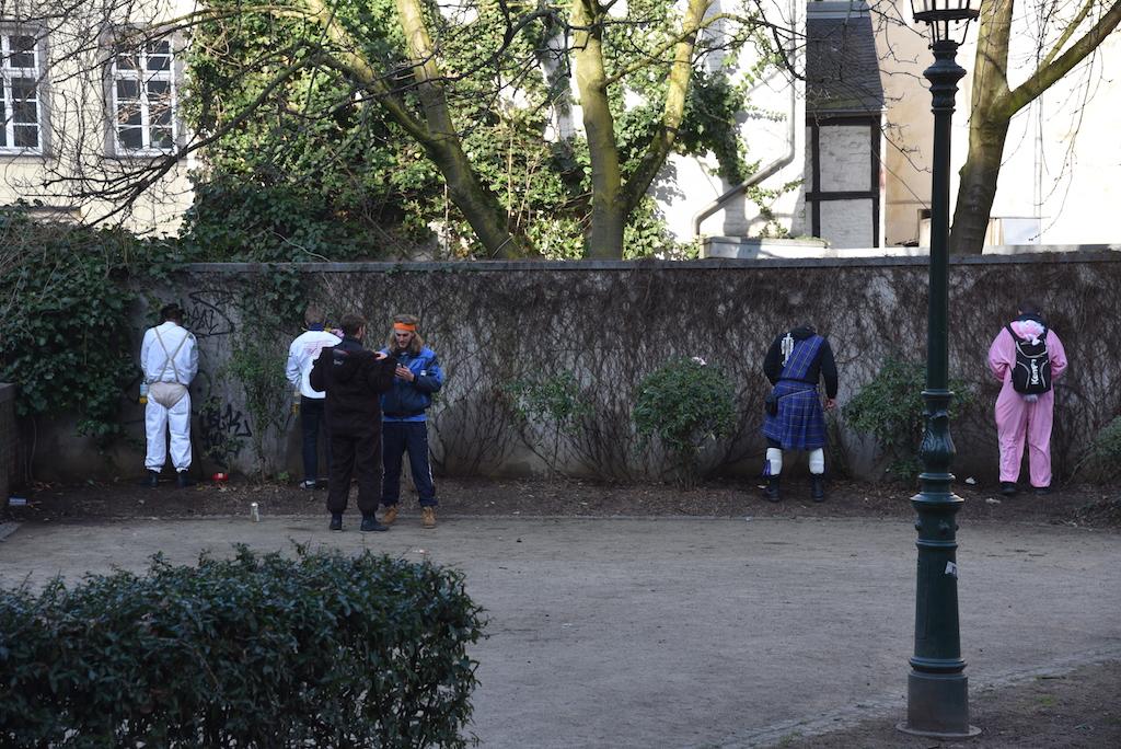 Pinkelkolonie Foto: LOKALBÜRO