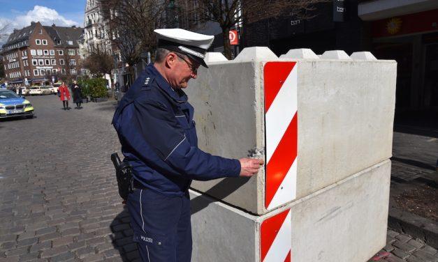 Betonklotz um mehr als 30 cm verschoben