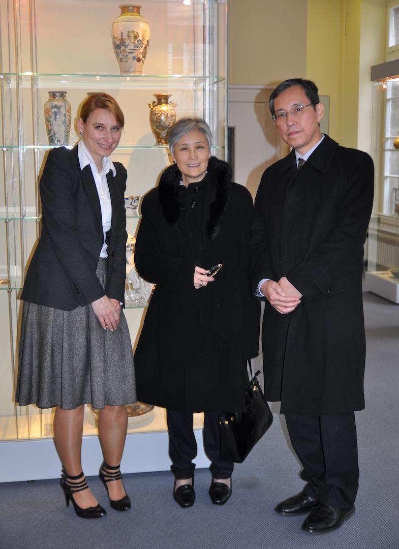 Besuch Generalkonsul Japans im Hetjens_Museum