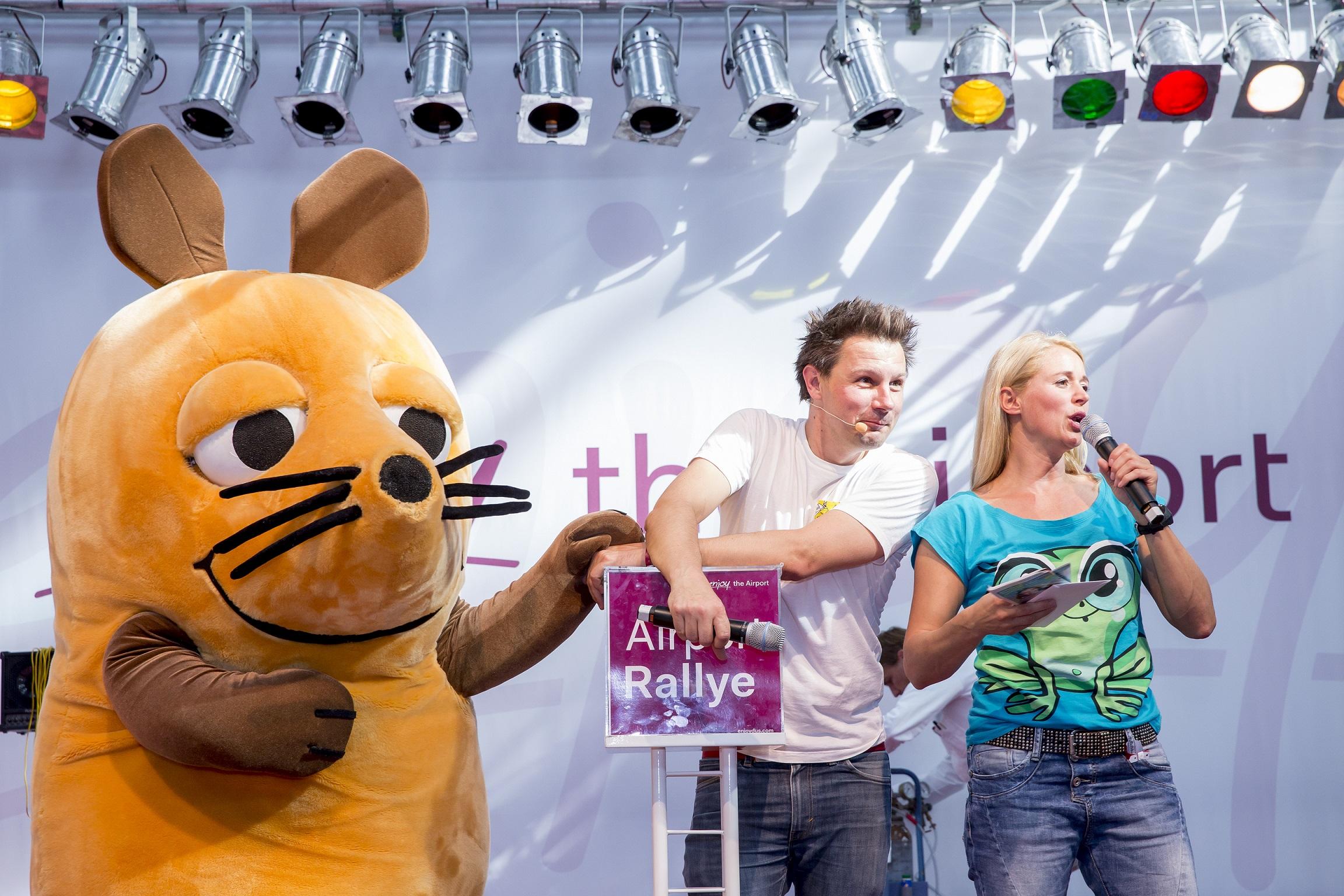 Kinderfest 2015, die Maus, André Gatzke, Singa Gätgens