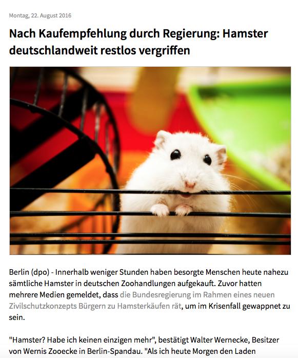 Hansterkaeufe
