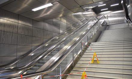 Wasserschaden im U-Bahnhof Benrather Straße