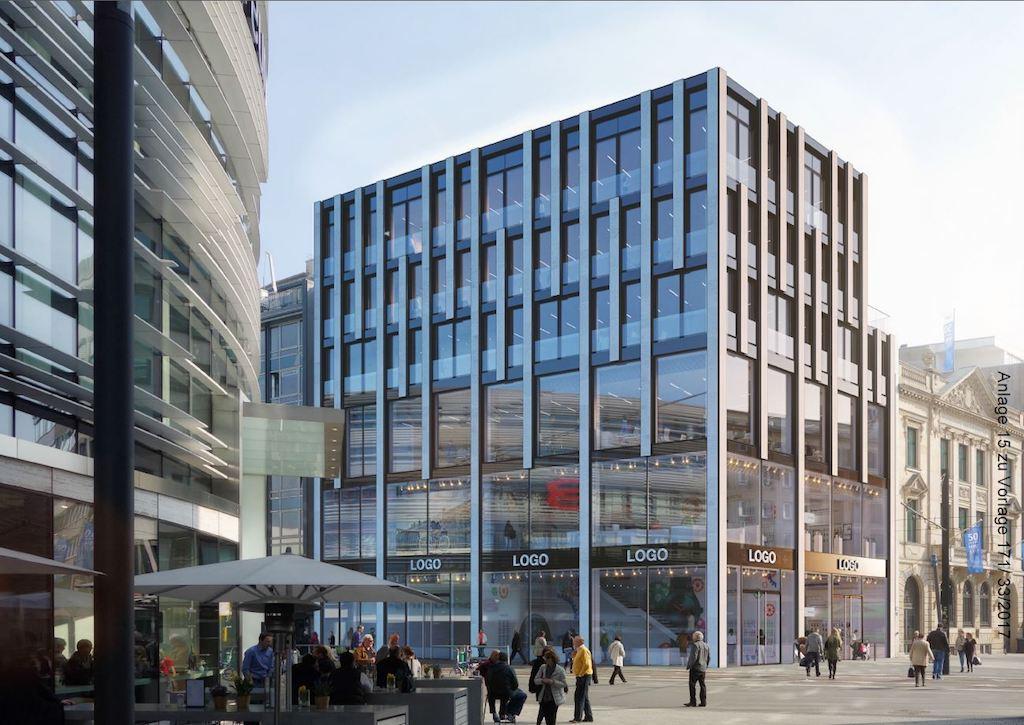 Bauprojekt Schadowplatz