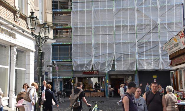 Rewe am Carlsplatz: Da tut sich was