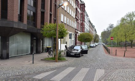 Poststraße – Zebrastreifen für Kinder sollweg