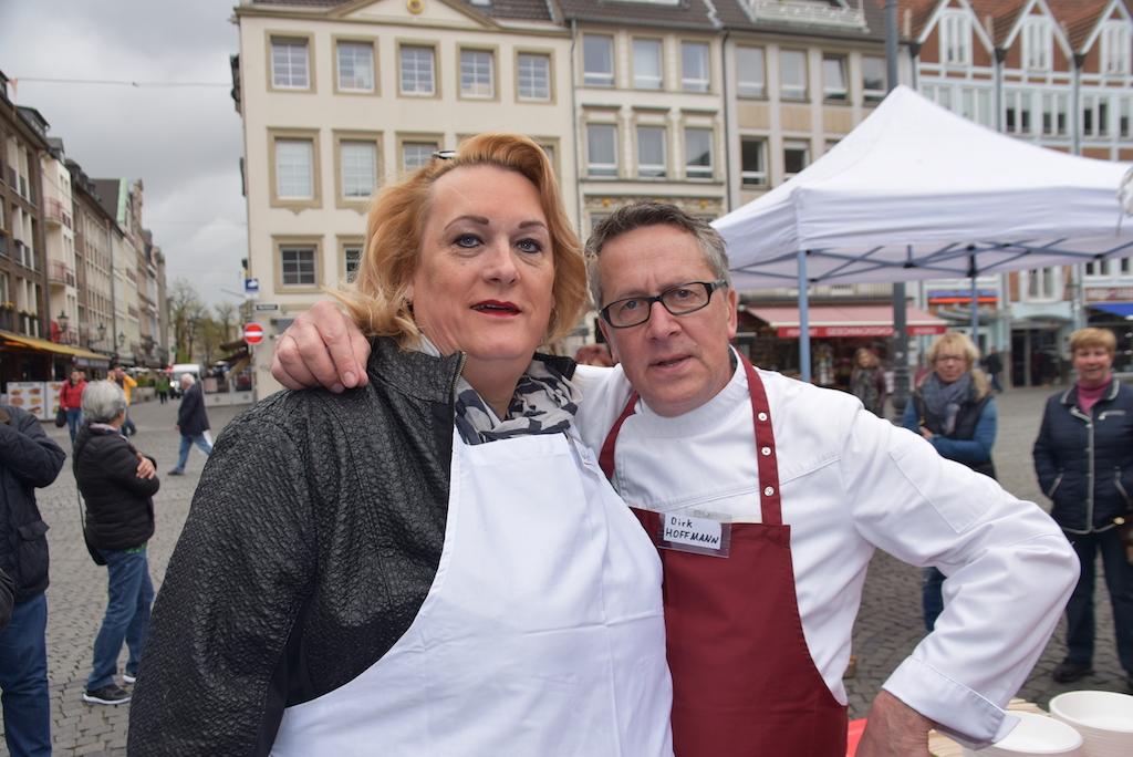 Käthe Köstlich und Dirk Hofmann