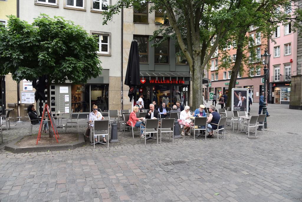 Cafe auf der Markstraße heute 16 Uhr Foto: LOKALBÜRO