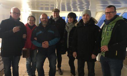 """Das Kom(m)ödchen-Ensemble auf Skandinavien Tour mit """"Deutschland gucken"""""""