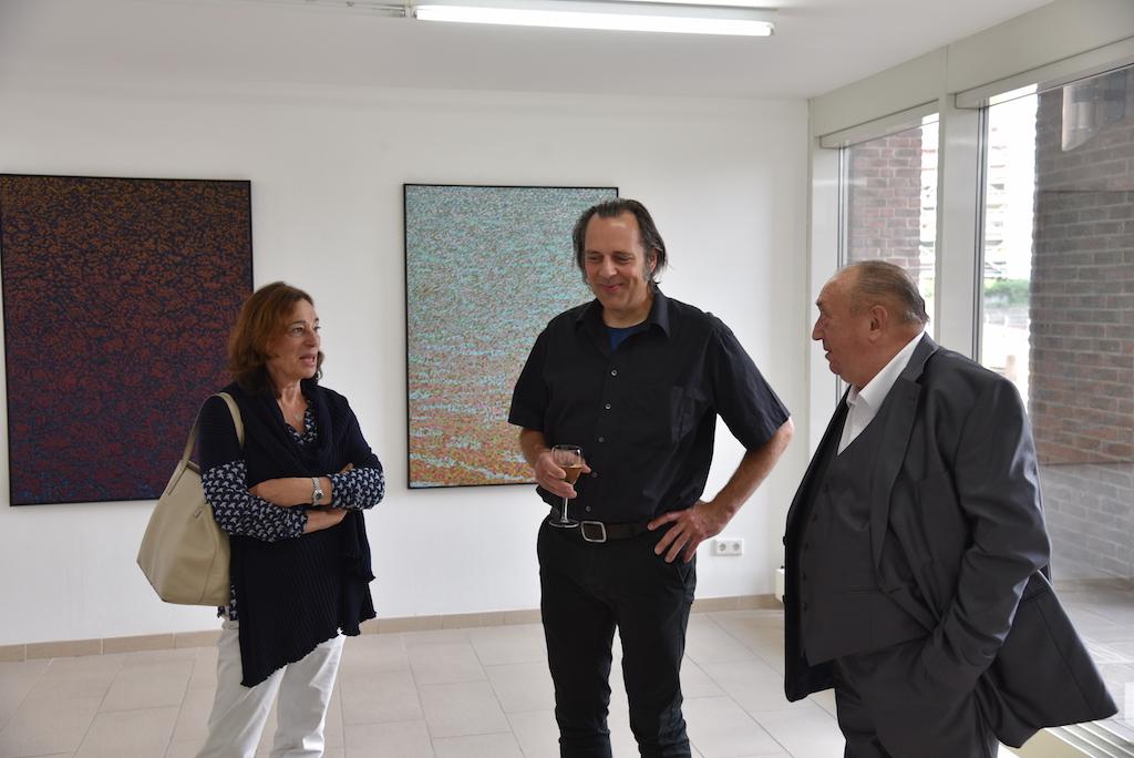 Dorothea Gelker, Hugo Boguslawsk und Prof. Kuhna Foto: LOKALBÜRO