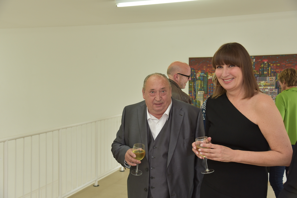 Prof Kuhna und Anette Müller Foto: LOKALBÜRO
