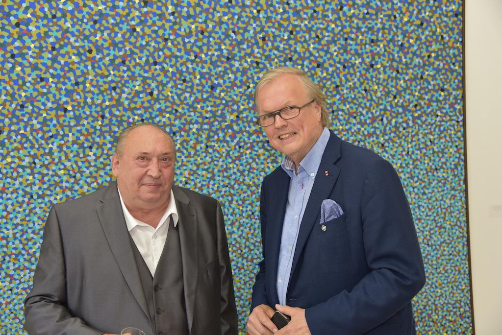Prof. Kuhna und Heribert Klein Foto: LOKALBÜRO