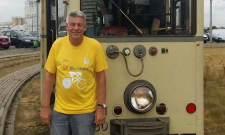 Gelbes Trikot für flotte Rheinbahner