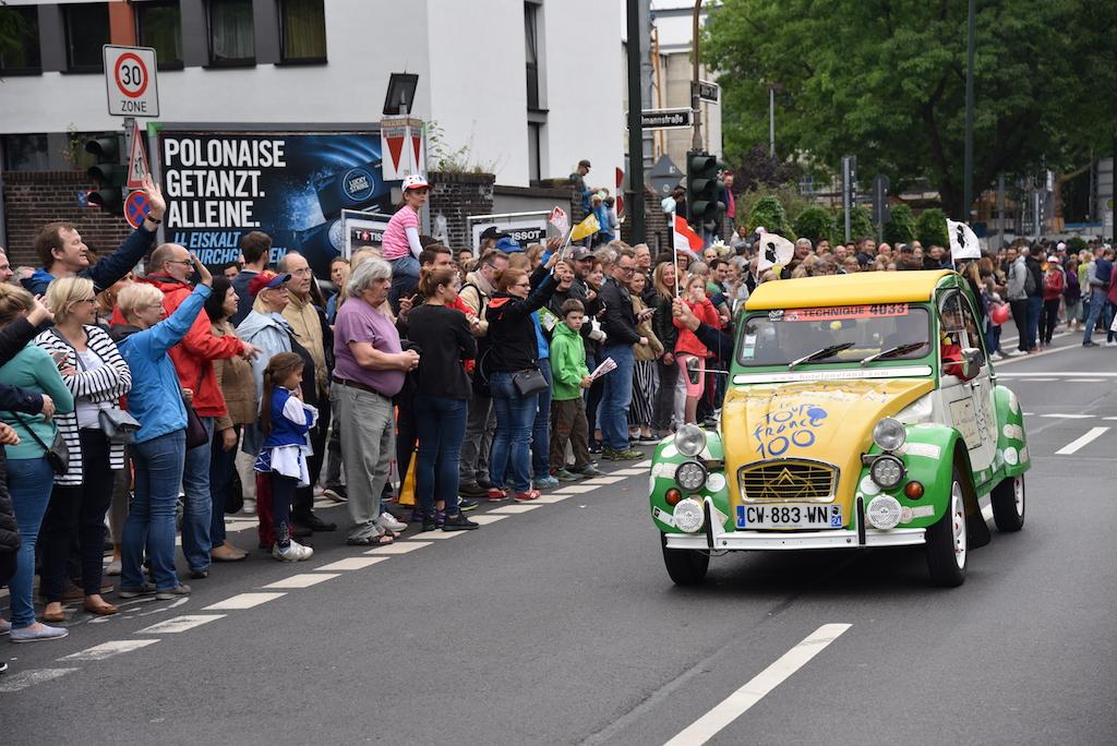 Schlußfahrzeug Foto: LOKALBÜRO