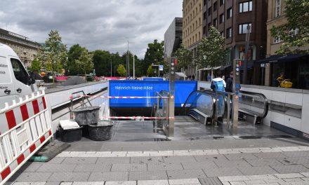 Schon wieder: Reparaturen an U-Bahnstation