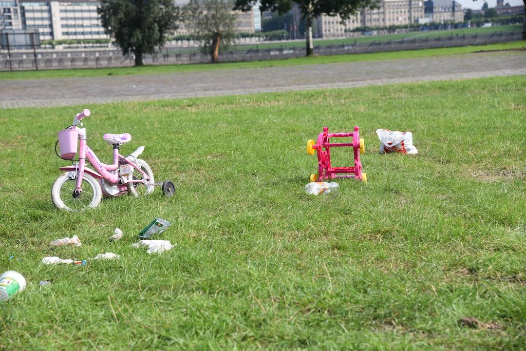 Einsammes Kinderrad Foto: LOKALBÜRO