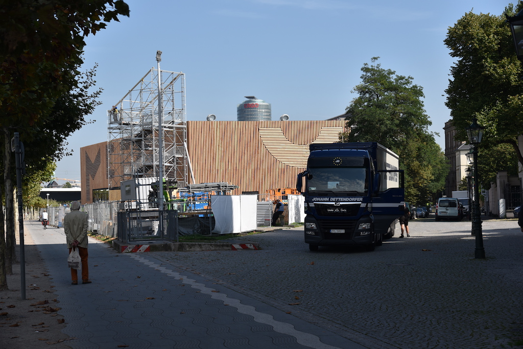 Blick aus Richtung Burgplatz Foto: LOKALBÜRO
