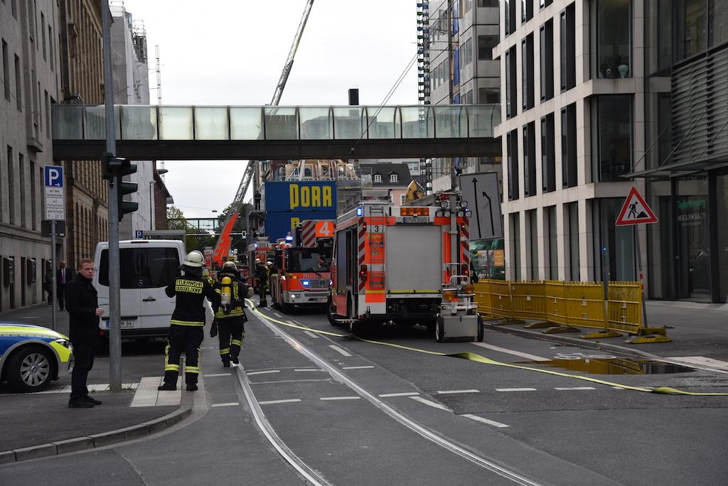 Einsatz Kasernenstraße Foto: LOAKLBÜRO