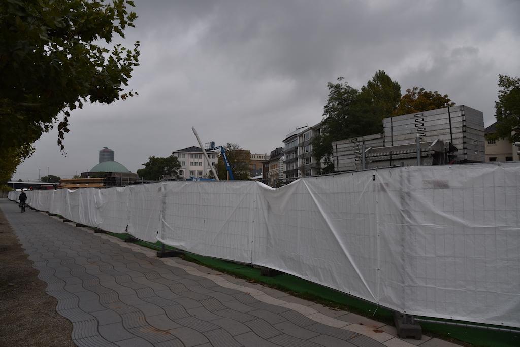 Eingezäuntes Gelände Foto: LOKALBÜRO