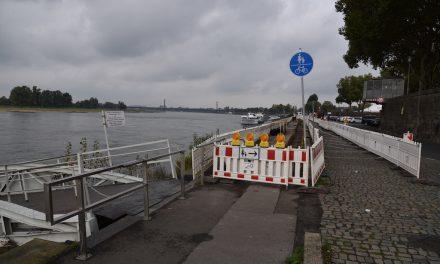 Stromanschlüsse für die Schiffsanleger
