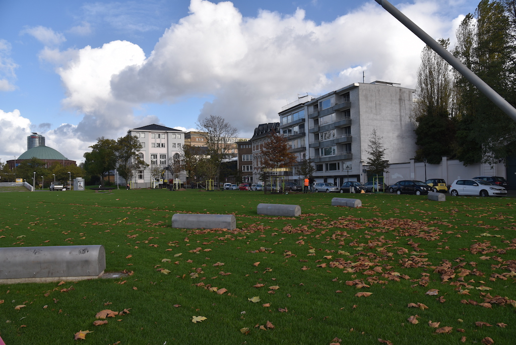 Parkanlage an der Reuterkaserne Foto: LOKALBÜRO