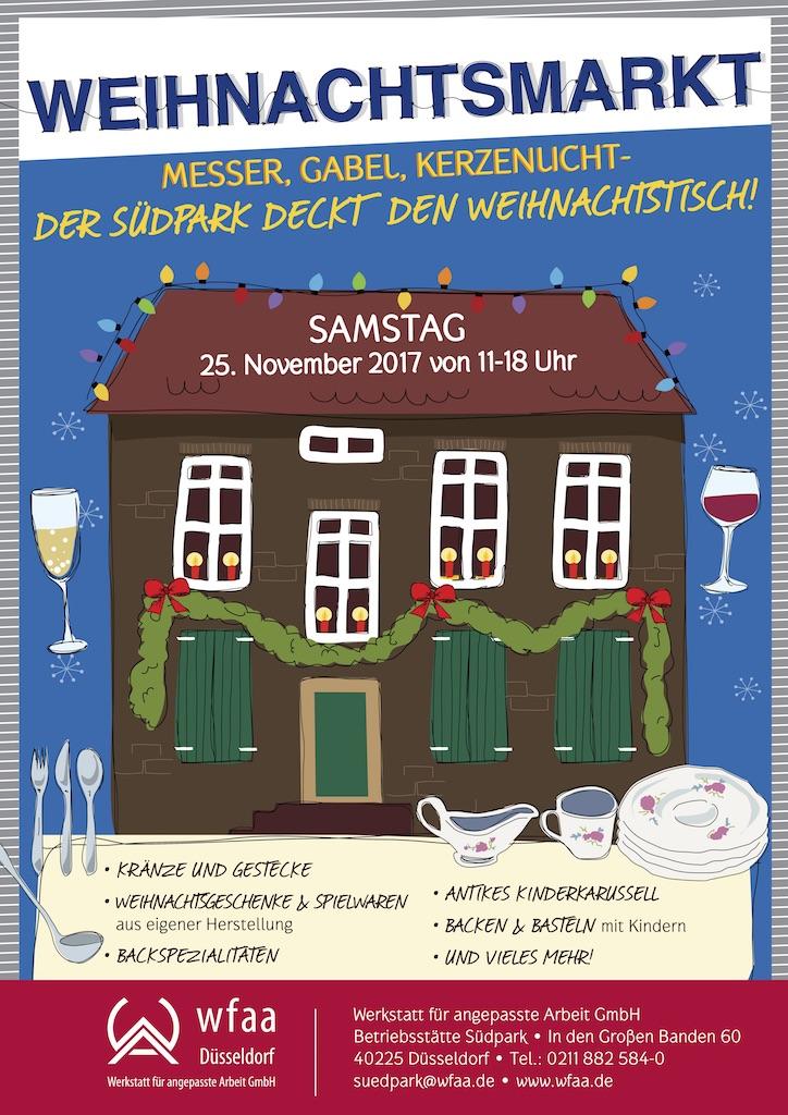 Nur Samstag: Idyllischer Weihnachtsmarkt im Südpark | Lokalbüro ...