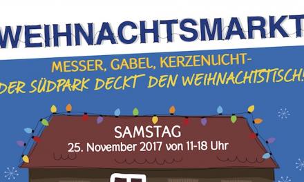 Nur Samstag: Idyllischer Weihnachtsmarkt im Südpark