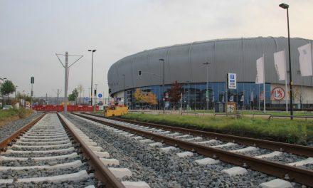 Mit der Rheinbahn zum ISSDome